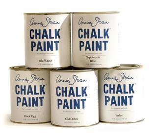Drága festék Annie Sloan, de cserébe azt várom, hogy igazán profi lesz az eredmény.