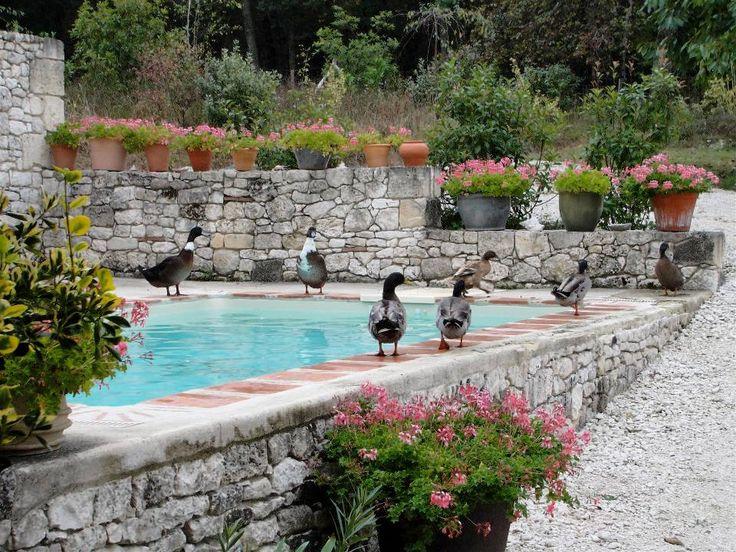 Bejön, amikor a medence mellett egy kis kőfal foglal helyet. Nálunk a nagy szintkülönbségek miatt erre valószínűleg szükség is lesz.
